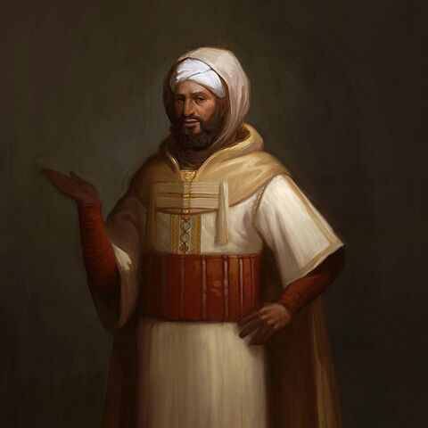 Concept Art of Ahmad al-Mansur