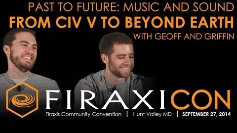 Firaxicon Panel Past To Future - Music and Sound from Civilization