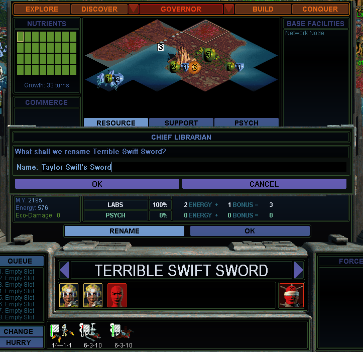 Taylor Swift's Sword (SMAC)