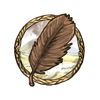 Item microraptor feather