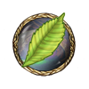 Item glowing leaf