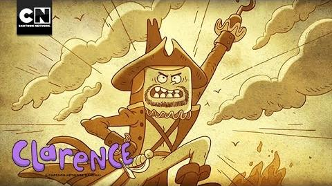 Pirate Confessional Jeff Clarence Thirty Days & Seven Seas Cartoon Network