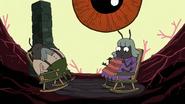 Bugs in Belson's head