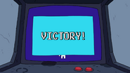 Jeff beat the game!