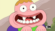 Clarence needs to brush his teeth