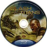 Clash of the Titans (2010) (Bluray) disc