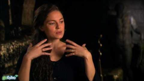Alexa Davalos Interview - Clash of the Titans