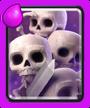 Cartas epicas Ejército de esqueletos