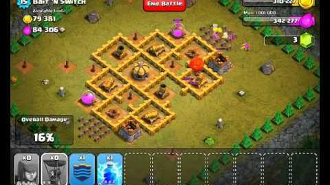 Clash of Clans Level 39 - Bait 'n Switch