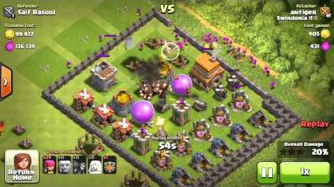 Best Farming Attack-TH6 Clash of clans