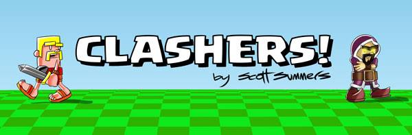 Clashers Comic Banner
