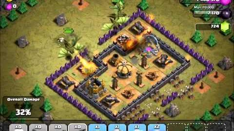 Clash of Clans Rolling Terror v3 with TH7 troops-1