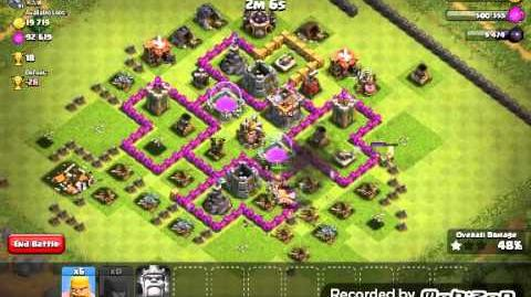 Clash Of Clans Barch