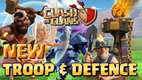 NEW UPDATE - Troop and Defence Levels! Clash of Clans June 2017 - CoC Balance Update