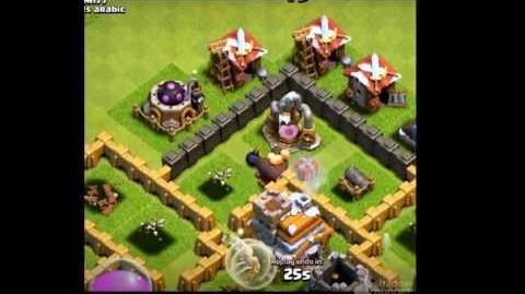 Santa strike (clash of clans) NEW UPDATE!!!!