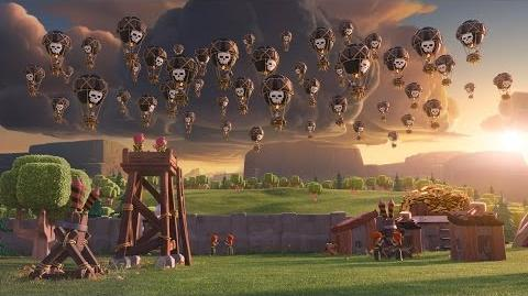 Clash of Clans Balloon Parade (Official TV Commercial)
