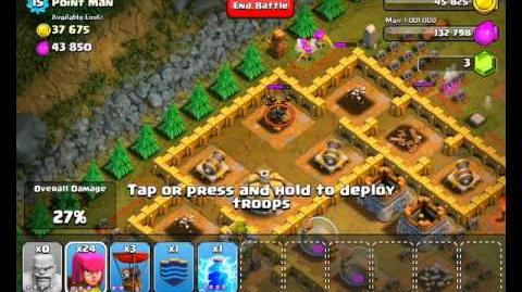 Clash of Clans Level 36 - Point Man