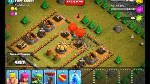 Clash of Clans Level 16 - Fort Knobs-1