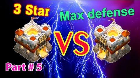 Clash of Clans War💥CoolGame24h💥TH11 3 Stars🌟Max TH11 vs TH11 Max😀Part 5