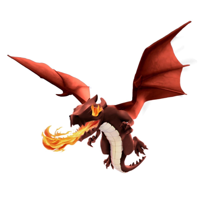 Image - Dragon 4 troop moorgr0ve.jpg | Clash of Clans Wiki ...