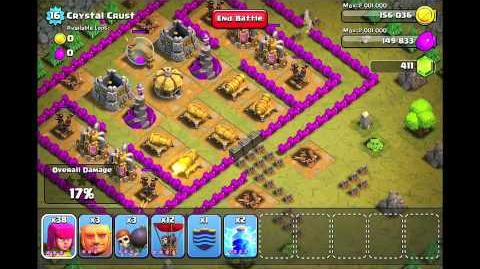 Clash of Clans Level 43 - Crystal Crust