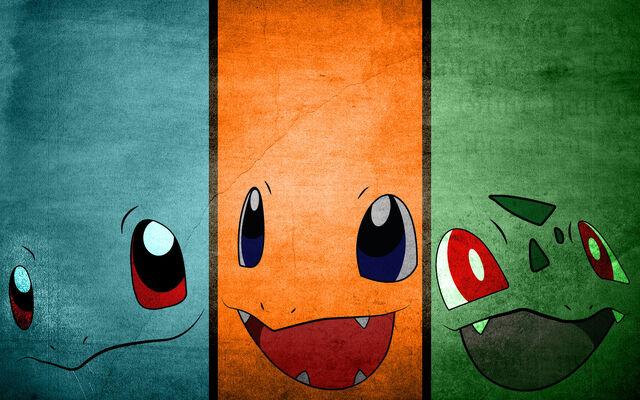 File:Pokemon Original Starters Background 1.jpg