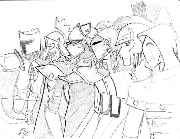 File:Knights of harmony rough sketch by dj black n white-d686sg6.jpg