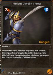 39 Furious Javelin Throw