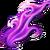 Tongue of flame purple
