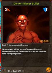 31 Demon-Slayer Bullet