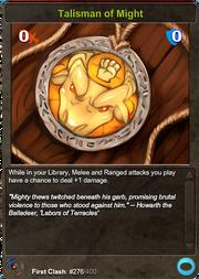 276 Talisman of Might