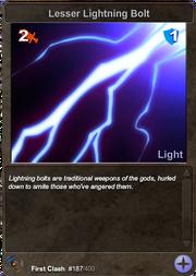 187 Lesser Lightning Bolt