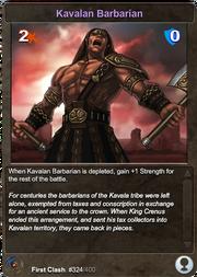 324 Kavalan Barbarian