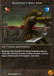 13 Beastman's Bane Shot V2