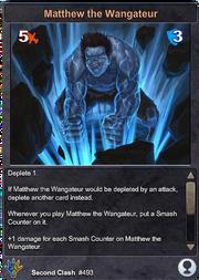 493 Matthew the Wangateur