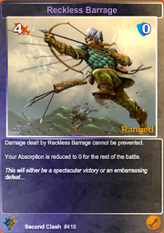 Reckless Barrage Foil