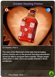 299 Greater Healing Potion
