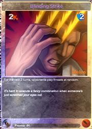 Promo4 Blinding Strike (F)