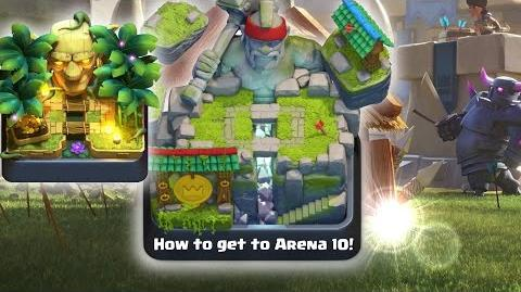 Clash Royale • How to Get to Hog Mountain! (Arena 10 Best Deck) Easy Fast