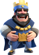 Blue King Laughing