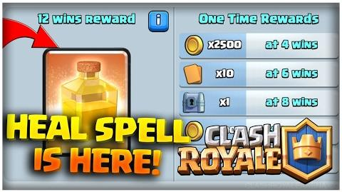 Clash Royale Heal Draft Challenge Update