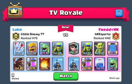 Ice FirstTVRoyale 060316