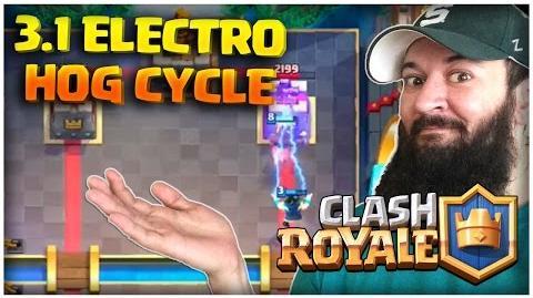 Clash Royale 3.1 Electro Hog Deck