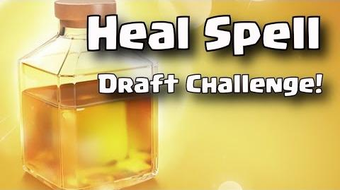 Heal Draft Challenge. Can we Win? • Clash Royale • New Cards • Heal Spell Update