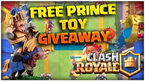 Clash Royale Account Giveaway