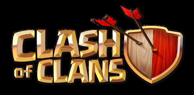 File:ClashOfClansLogo.png