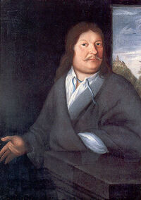 Painting of Johann Ambrosius Bach attributed to Johann David Herlicius