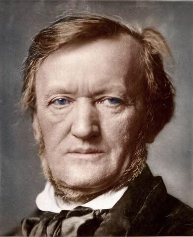 File:Colorized photograph of Richard Wagner originally by Franz Hanfstaengl.jpg
