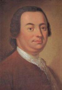 Painting of Johann Christoph Friedrich Bach