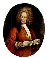 Portrait of Tomaso Albinoni